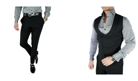 The best combination of variety and style in each casual groom attire